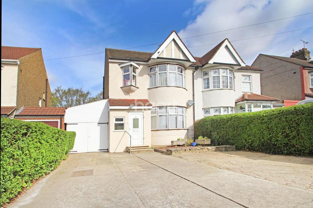 3 Bedrooms Semi Detached House for sale in Fairholme Avenue, Gidea Park