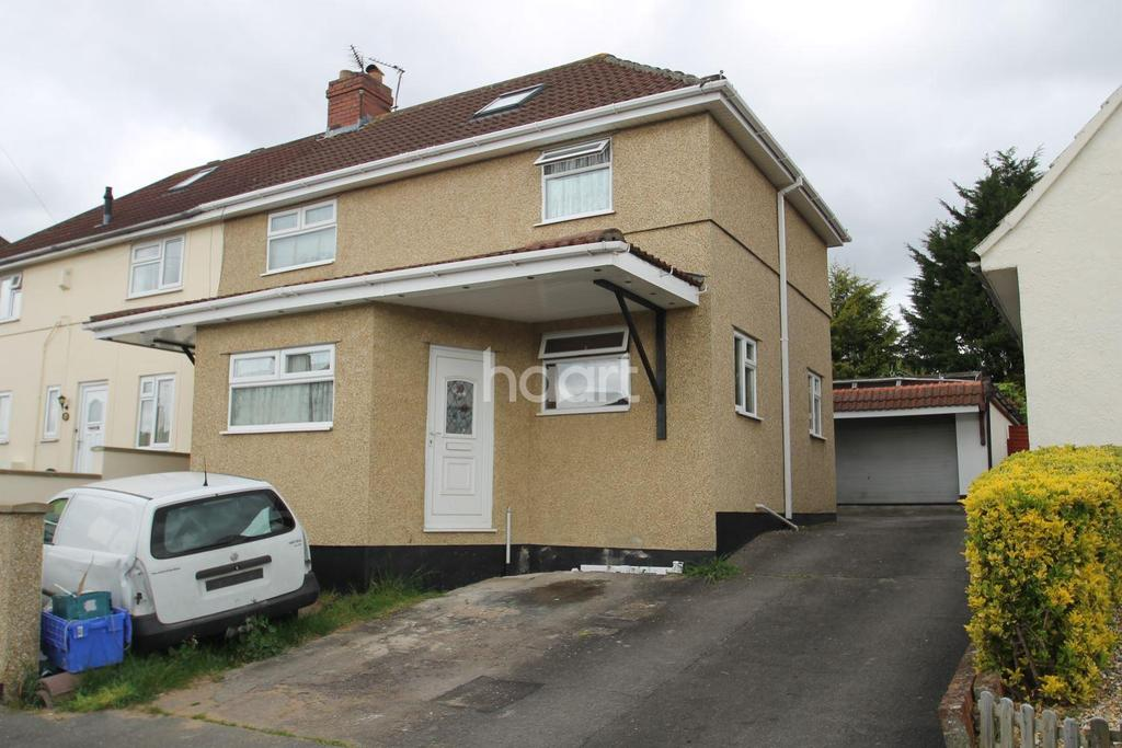 3 Bedrooms Semi Detached House for sale in Bristol