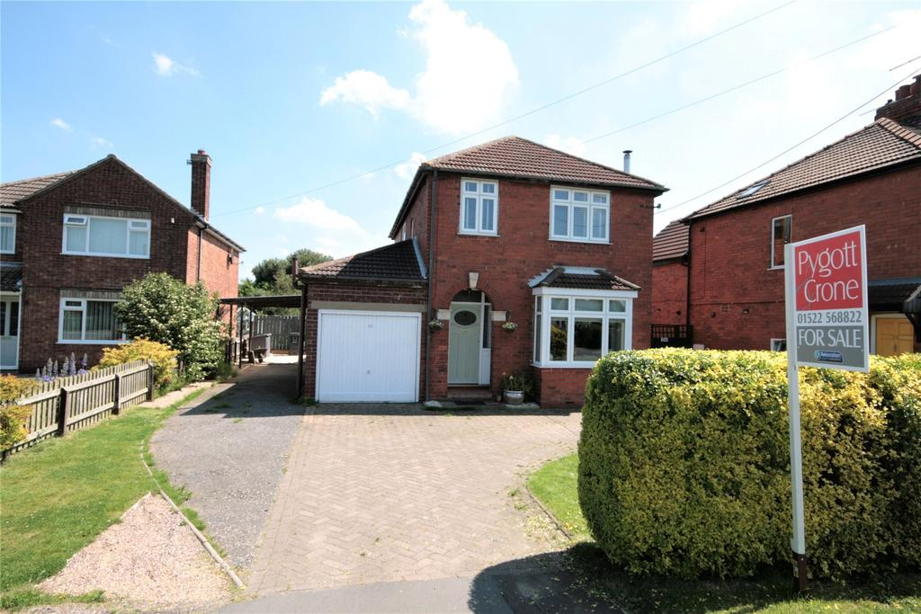 3 Bedrooms Detached House for sale in Mill Lane, Saxilby, LN1