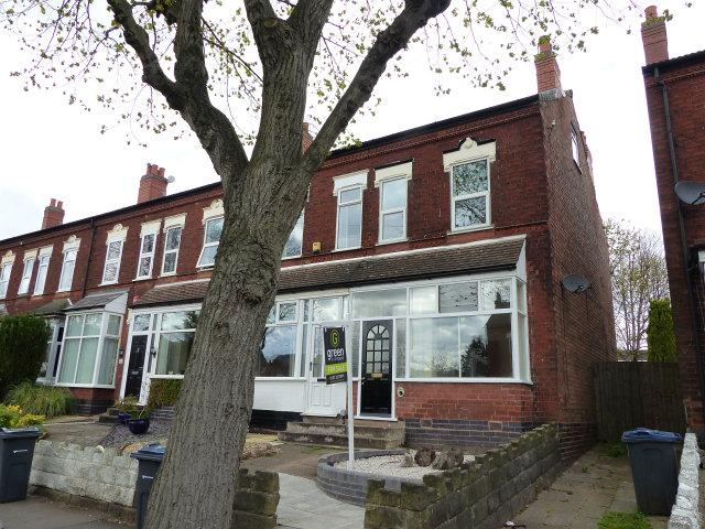 2 Bedrooms End Of Terrace House for sale in Somerset Road,Erdington,Birmingham