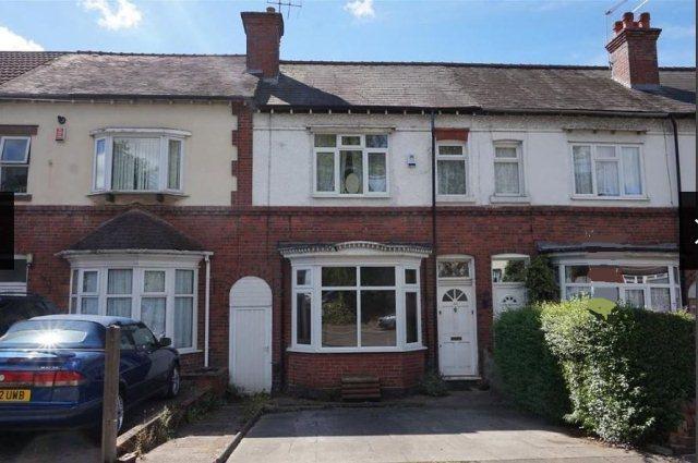 3 Bedrooms Terraced House for sale in Short Heath Road,Erdington,Birmingham