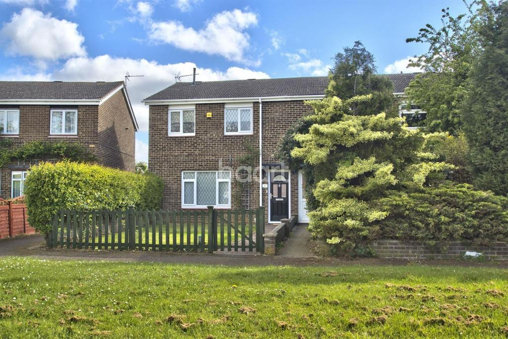 3 Bedrooms End Of Terrace House for sale in Dukes Road, Eaton Socon, St Neots