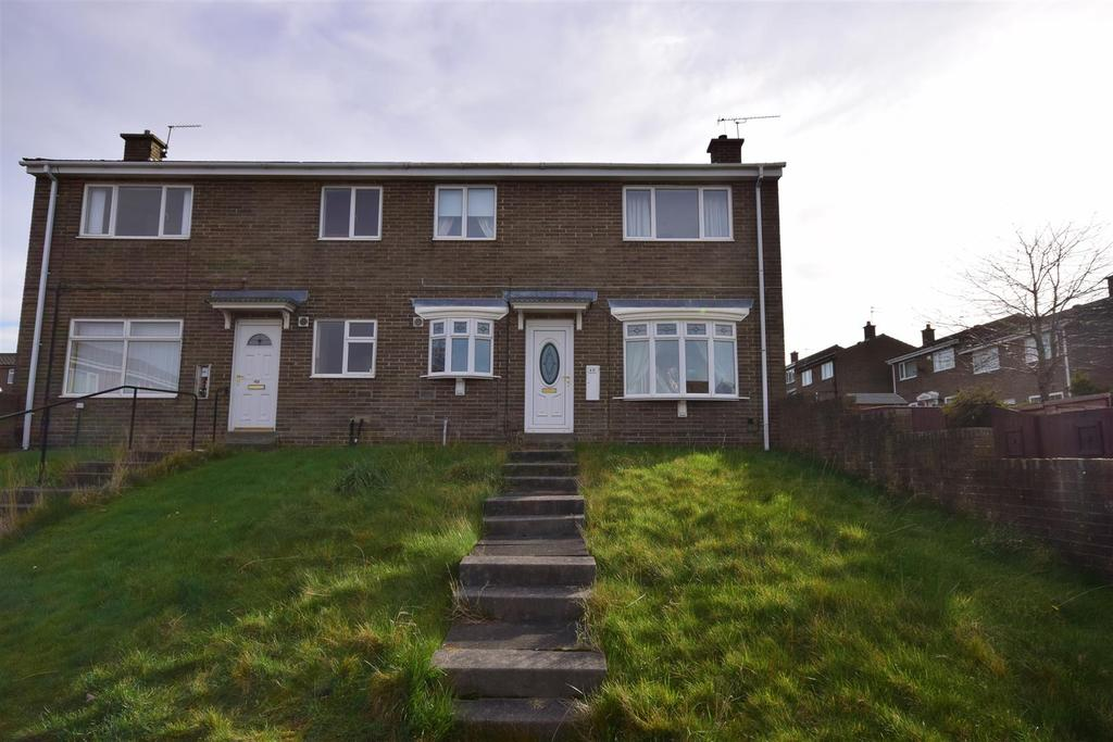 2 Bedrooms Semi Detached House for sale in Treecone Close, Hall Farm, Sunderland