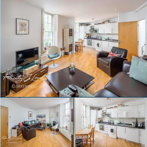 1 bedroom flat to rent - Lever Street, EC1