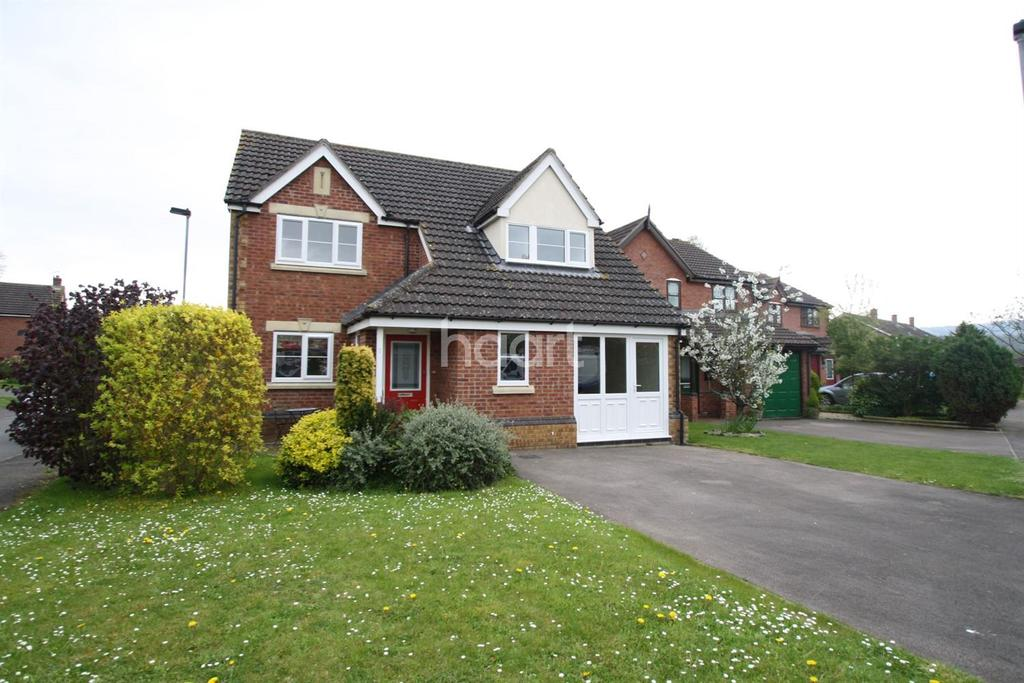 4 Bedrooms Detached House for sale in Patterson Way, Monmouth, Monmouthshire
