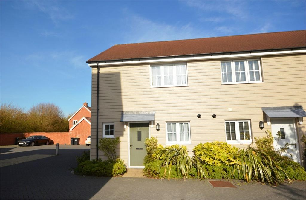 2 Bedrooms End Of Terrace House for sale in 32 Saffron Way, Little Canfield