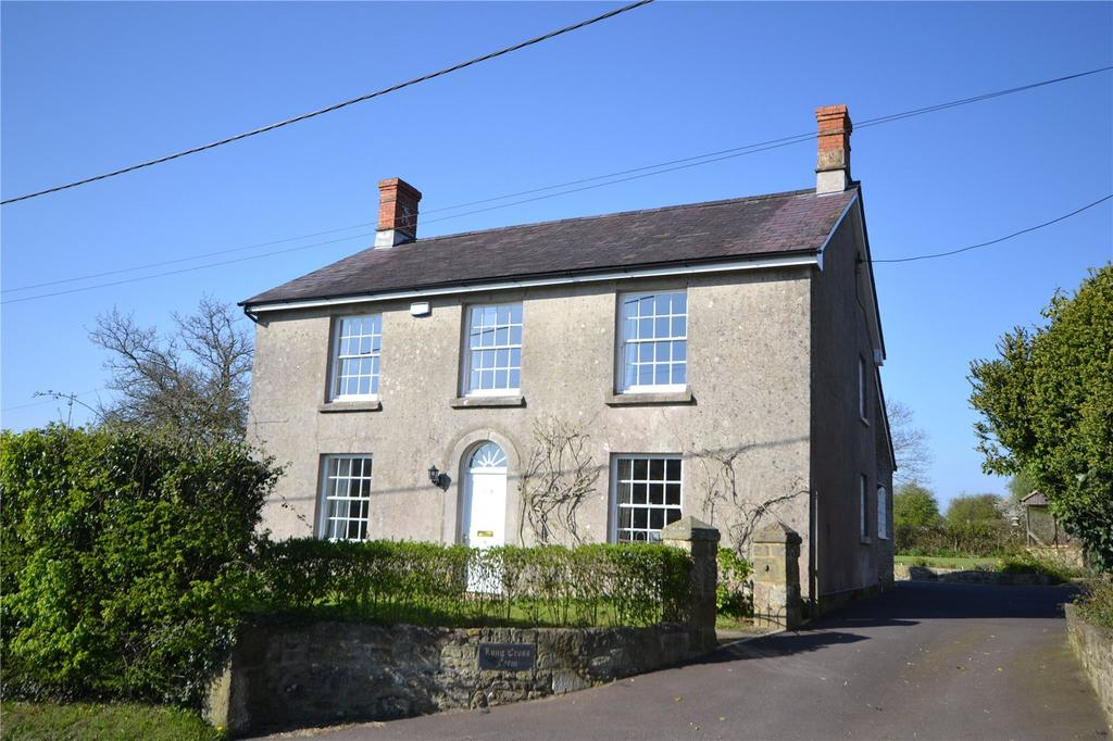 4 Bedrooms Detached House for sale in Long Cross, Shaftesbury, SP7