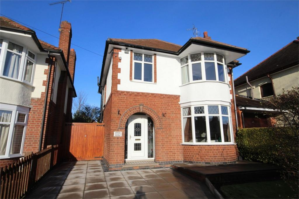 3 Bedrooms Detached House for sale in Kingsbridge Road, Weddington, Nuneaton, Warwickshire