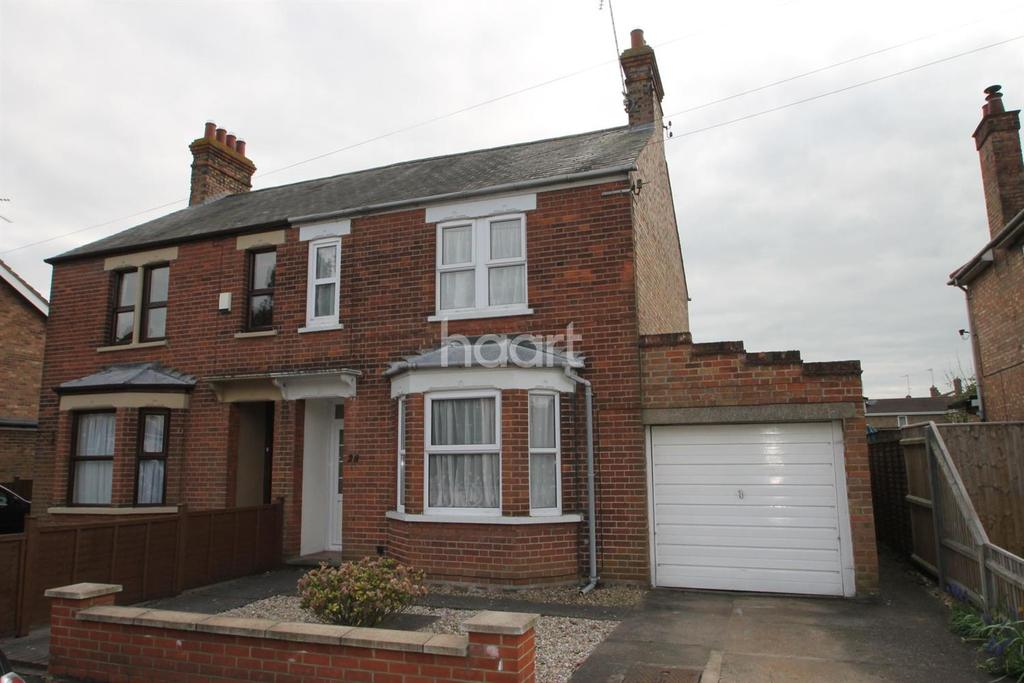 3 Bedrooms Semi Detached House for sale in Station Drive, Wisbech