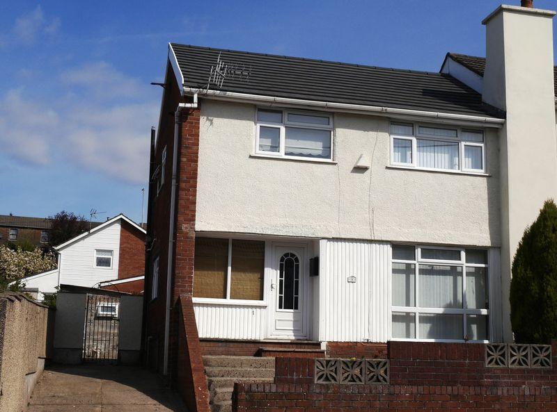 3 Bedrooms Semi Detached House for sale in Parklands Road, Tonyrefail, CF39 8PE