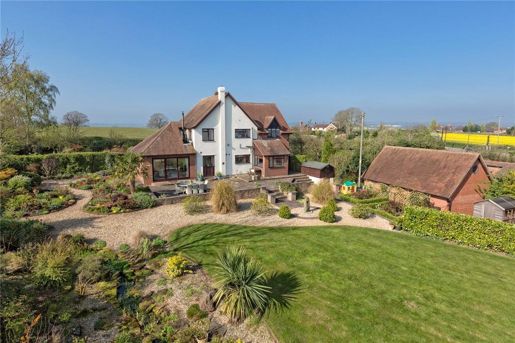 4 Bedrooms Detached House for sale in Ingram Lane, Chelmarsh, Bridgnorth, Shropshire, WV16