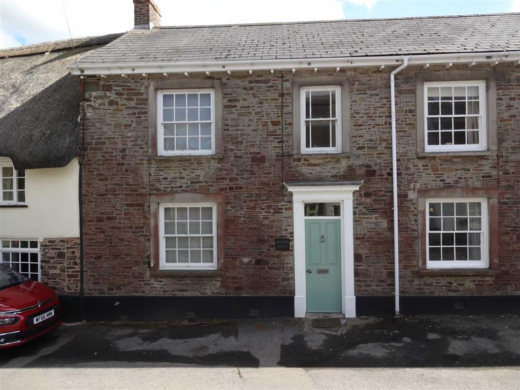 2 Bedrooms Semi Detached House for sale in East Street, East Street, Chulmleigh, Devon, EX18