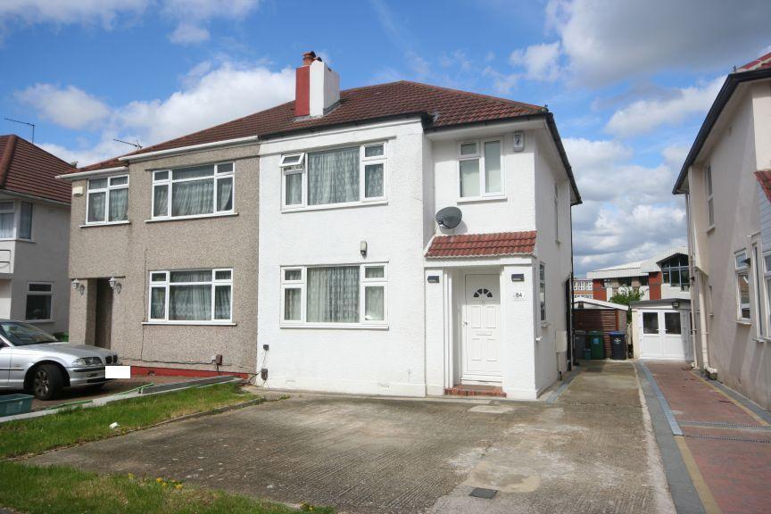 3 Bedrooms Semi Detached House for sale in Chapman Crescent, Kenton HA3