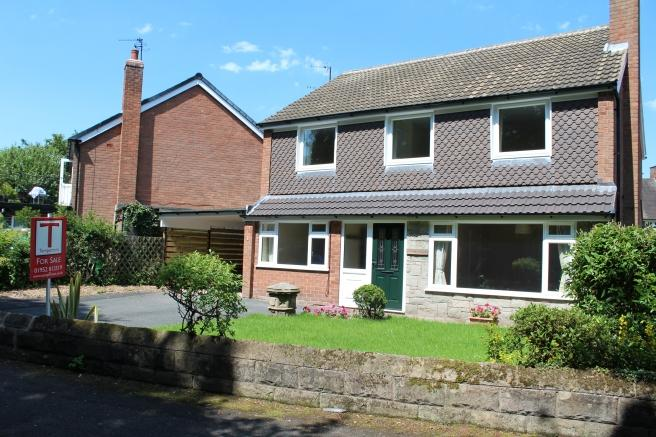 4 Bedrooms Detached House for sale in Postern Gate, Princess Gardens, Newport, Shropshire, TF10 7ET