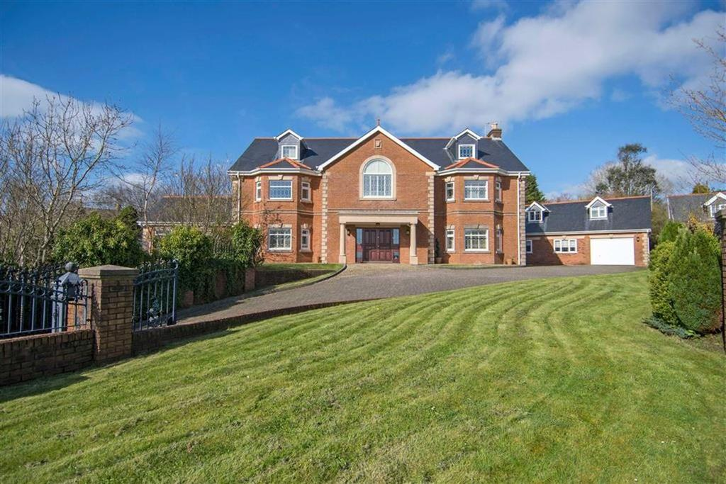 5 Bedrooms Detached House for sale in The Gables, Three Crosses, Swansea
