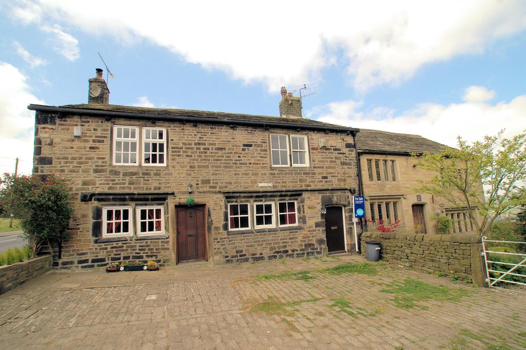 2 Bedrooms Cottage House for sale in 42 The Royd, Towngate, Sowerby, Sowerby Bridge HX6