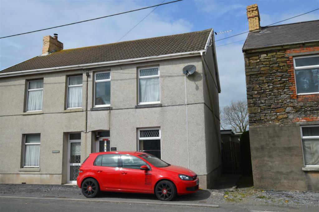 3 Bedrooms Semi Detached House for sale in Carway, Kidwelly