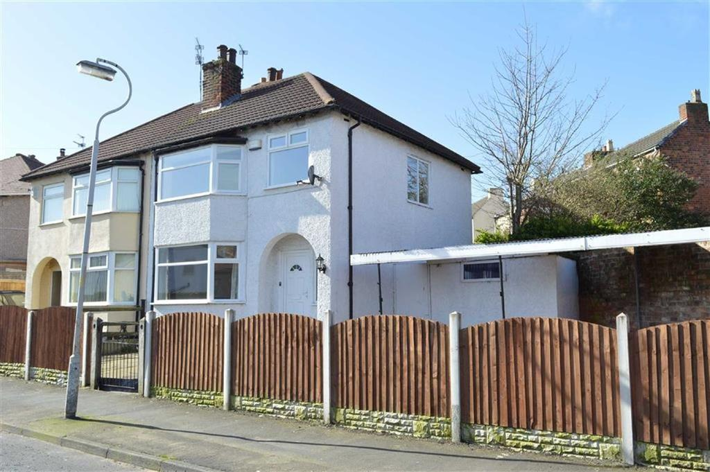 3 Bedrooms Semi Detached House for sale in New Ferry Road, CH62