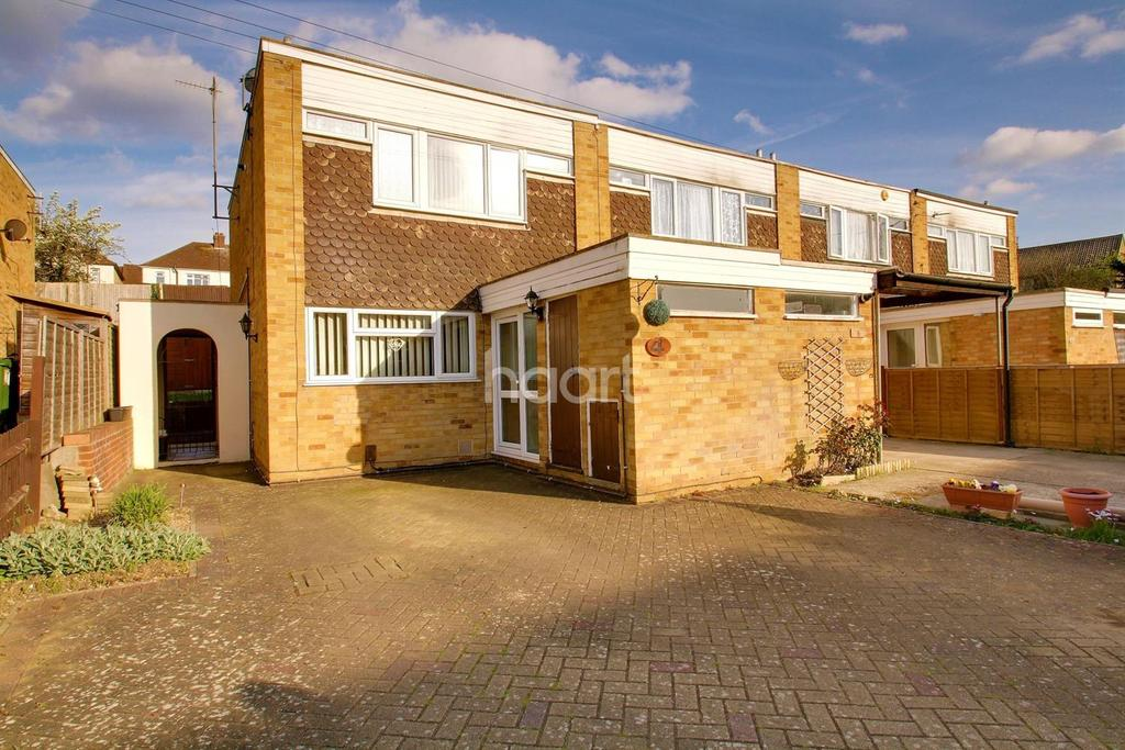 2 Bedrooms End Of Terrace House for sale in Sheriden Close, Maidstone, ME14