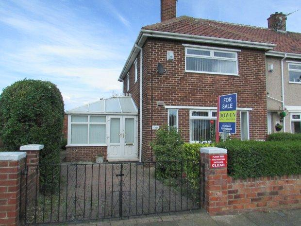 2 Bedrooms Terraced House for sale in WEST VIEW ROAD, WEST VIEW, HARTLEPOOL