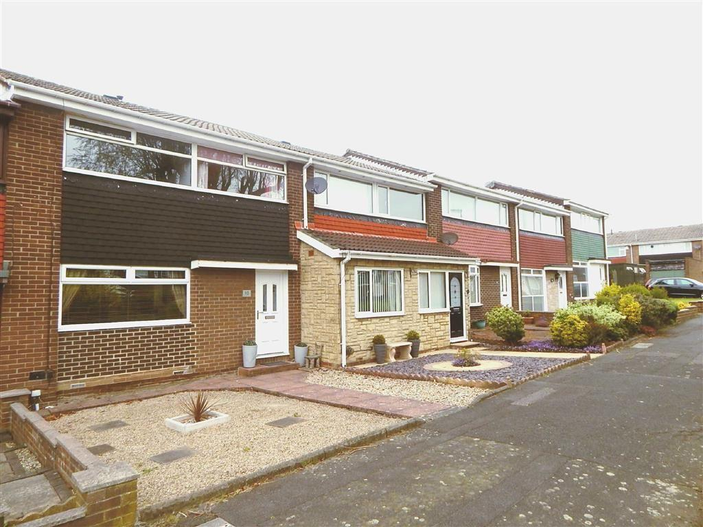 3 Bedrooms Terraced House for sale in Broadstone Way, Battle Hill, Wallsend, NE28