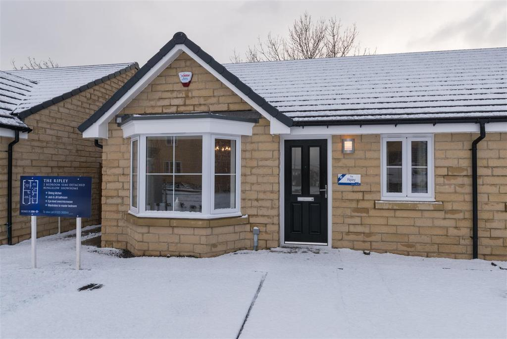 2 Bedrooms Semi Detached Bungalow for sale in Scholars Park, Off Bourne Avenue, Darlington
