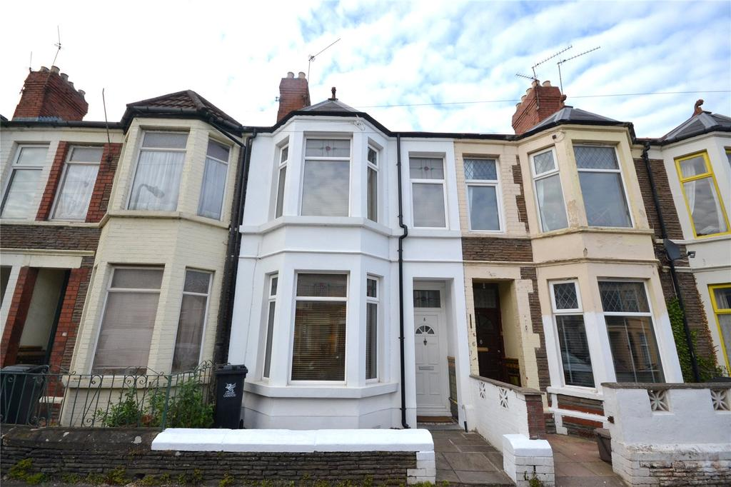 2 Bedrooms Terraced House for sale in Daviot Street, Roath, Cardiff, CF24