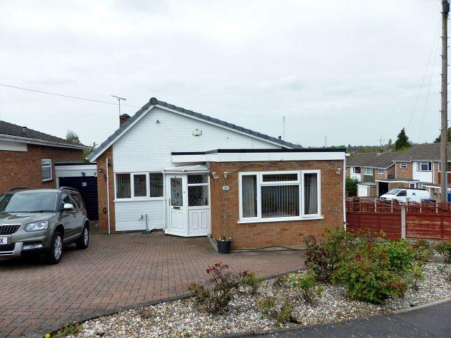 2 Bedrooms Detached Bungalow for sale in Lambert Drive,Burntwood,Staffordshire