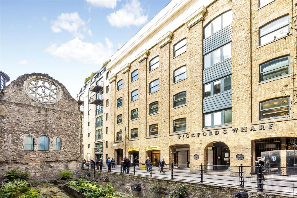 1 Bedroom Flat for sale in Pickfords Wharf Apartments, Clink Street, London
