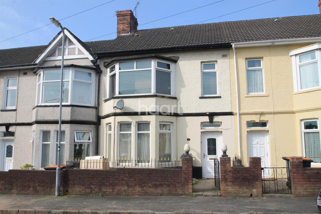 3 Bedrooms Terraced House for sale in Blenheim Road, Newport