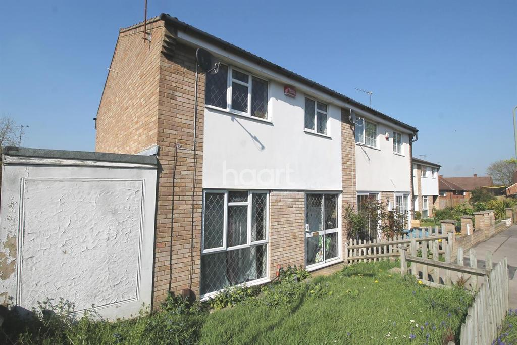 3 Bedrooms End Of Terrace House for sale in Osterley Close, Orpington