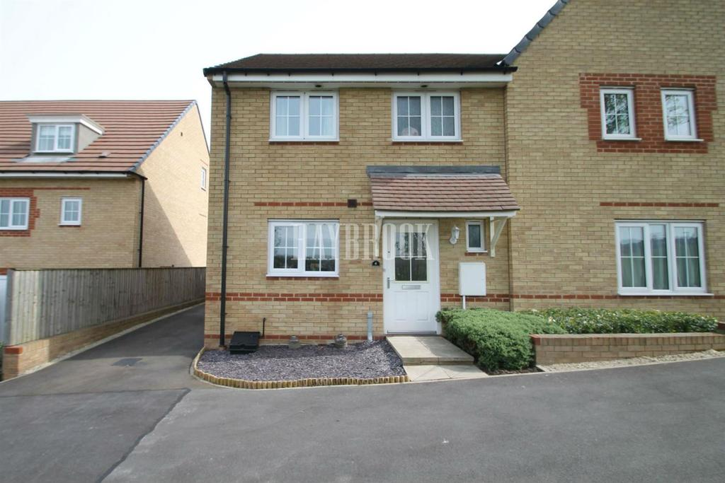 3 Bedrooms Semi Detached House for sale in Field View Court, Brinsworth