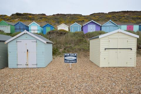 Hordle Cliff Beach Hut For Sale