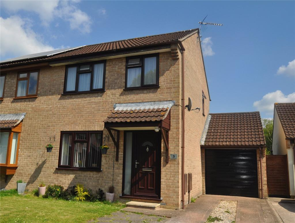 3 Bedrooms House for sale in Orchid Close, Tiverton, Devon, EX16