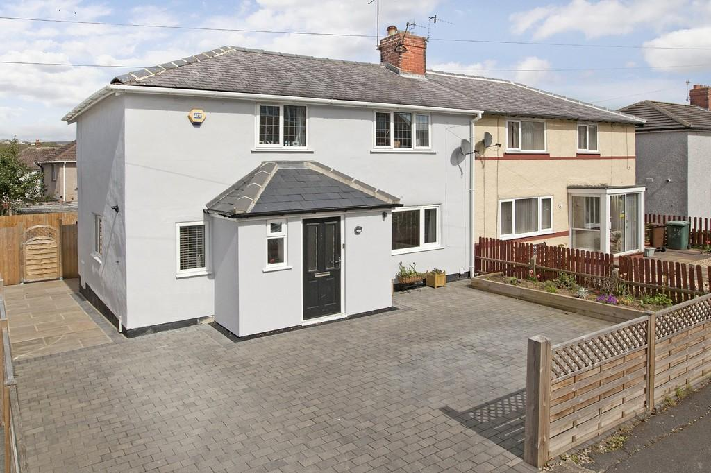 3 Bedrooms Semi Detached House for sale in Rombalds View, Ben Rhydding, Ilkley