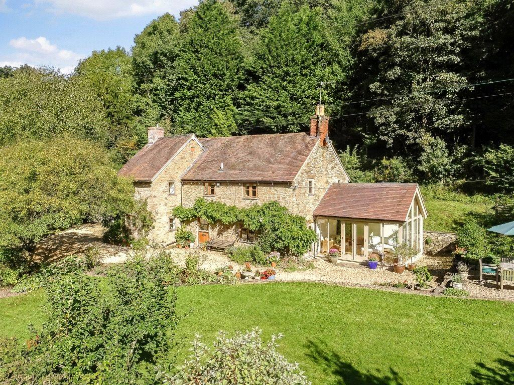 4 Bedrooms Detached House for sale in Bache Mill, Diddlebury, Craven Arms, Shropshire