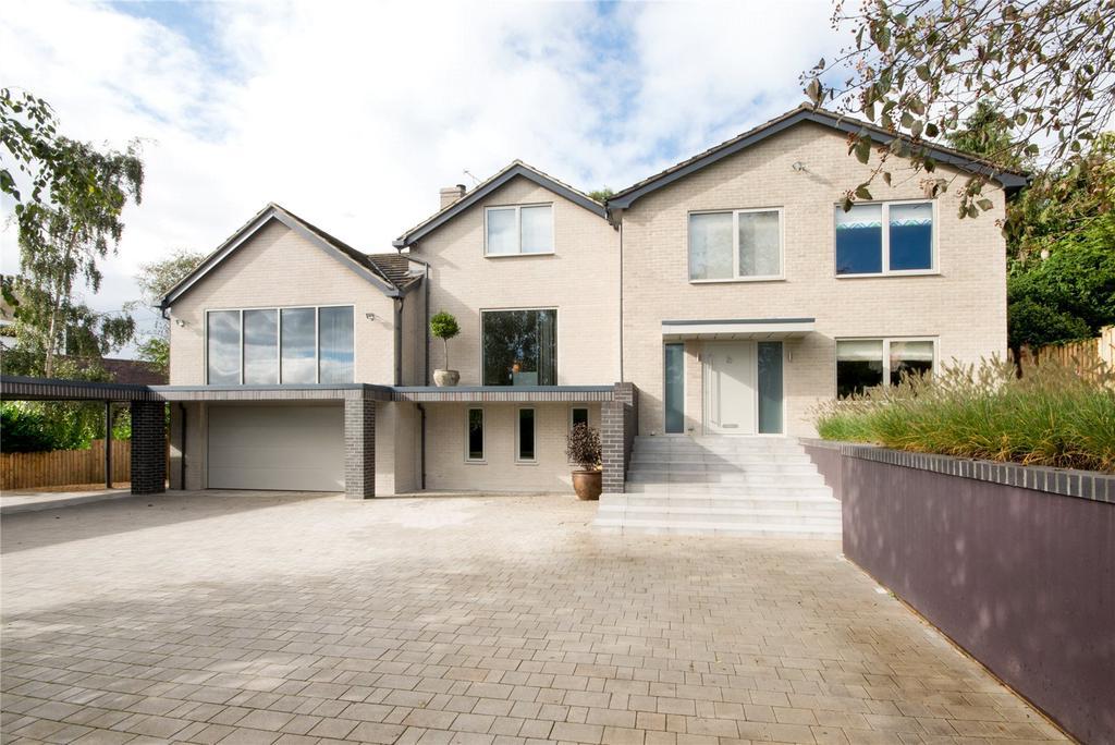 5 Bedrooms Detached House for sale in Ashley Road, Battledown, Cheltenham, Gloucestershire, GL52