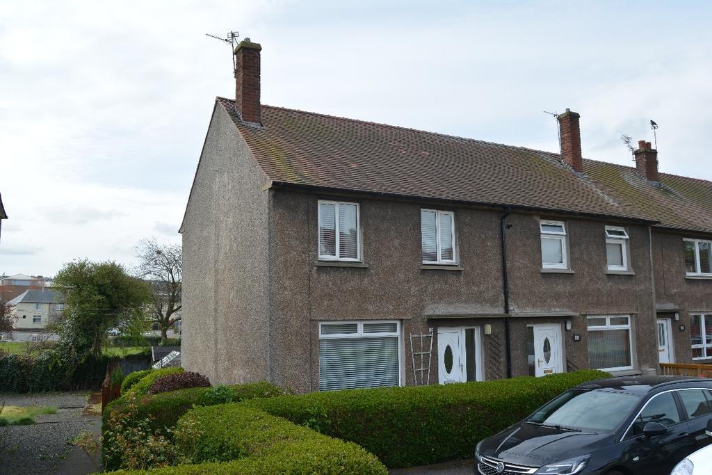 2 Bedrooms End Of Terrace House for sale in School Road, Redding, Falkirk, FK2 9XU