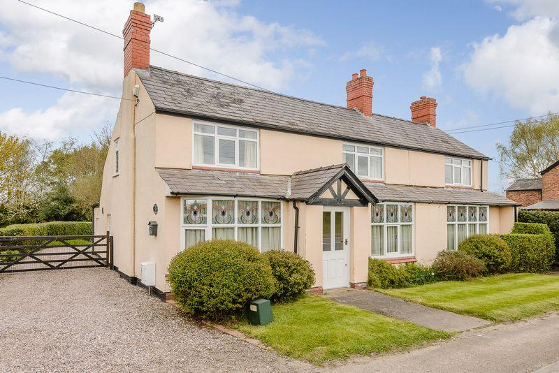 4 Bedrooms Detached House for sale in Duddon, Nr. Tarporley