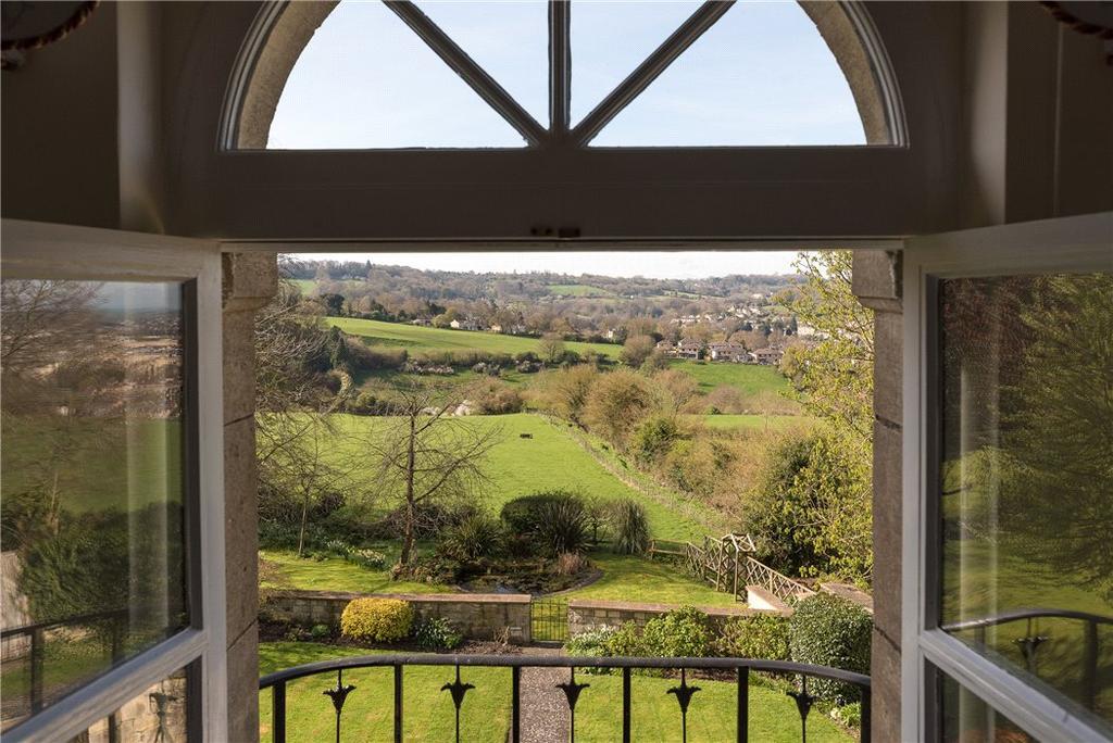 4 Bedrooms Detached House for sale in Bathwick Hill, Bath, Somerset, BA2