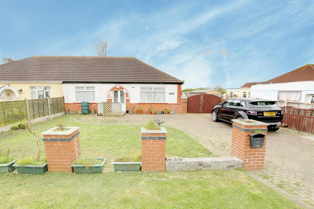 2 Bedrooms Semi Detached Bungalow for sale in Tesscot, Sutton Road, Trusthorpe