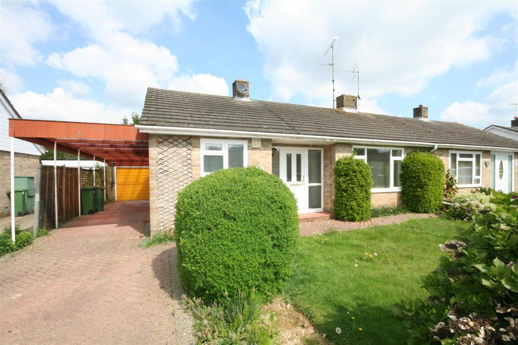 3 Bedrooms Semi Detached Bungalow for sale in Flower Farm Close, Henfield