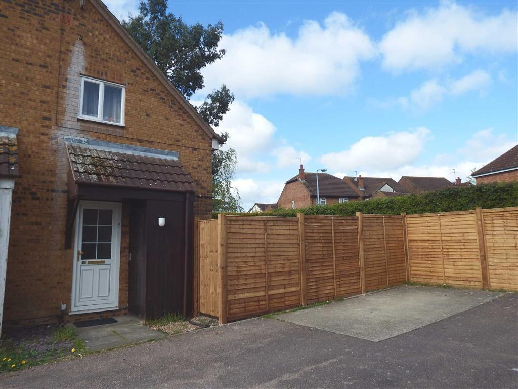 1 Bedroom Terraced House for sale in Montfitchet Walk, Stevenage, Hertfordshire, SG2