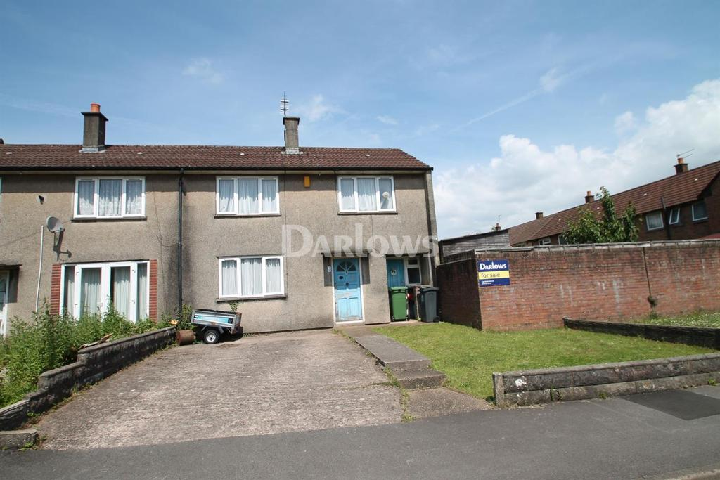 3 Bedrooms End Of Terrace House for sale in Dryden Close, Llanrumney, Cardiff