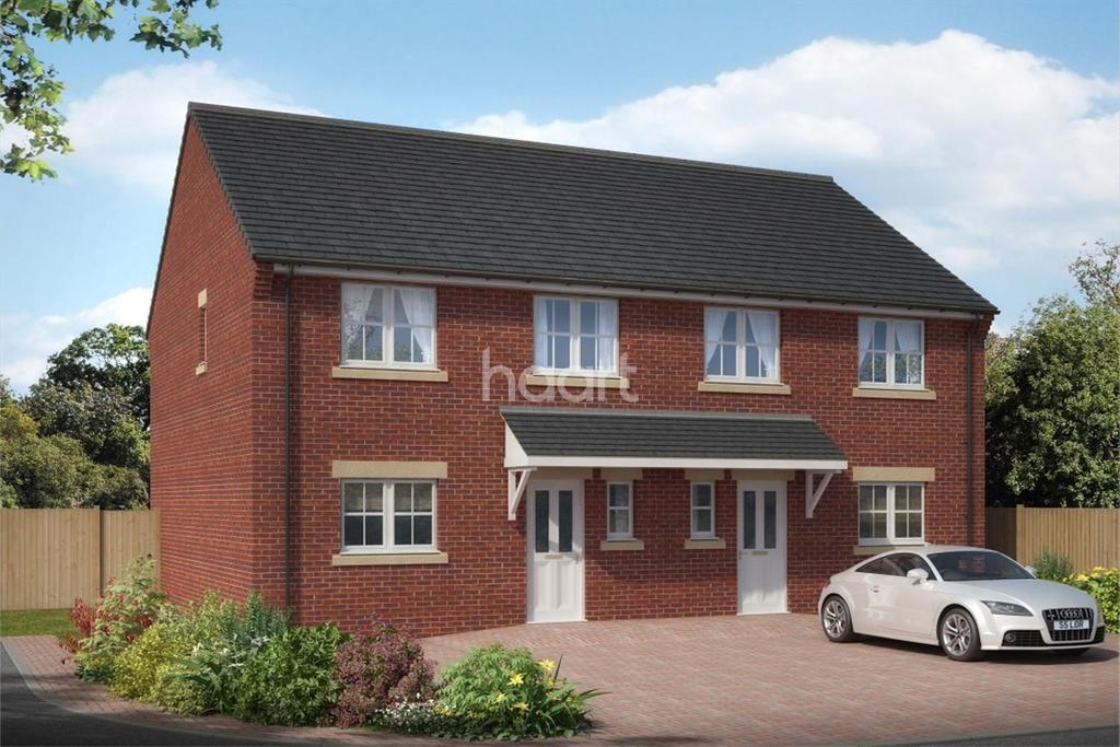3 Bedrooms Semi Detached House for sale in Plot 20 Station Road, Blaxton.