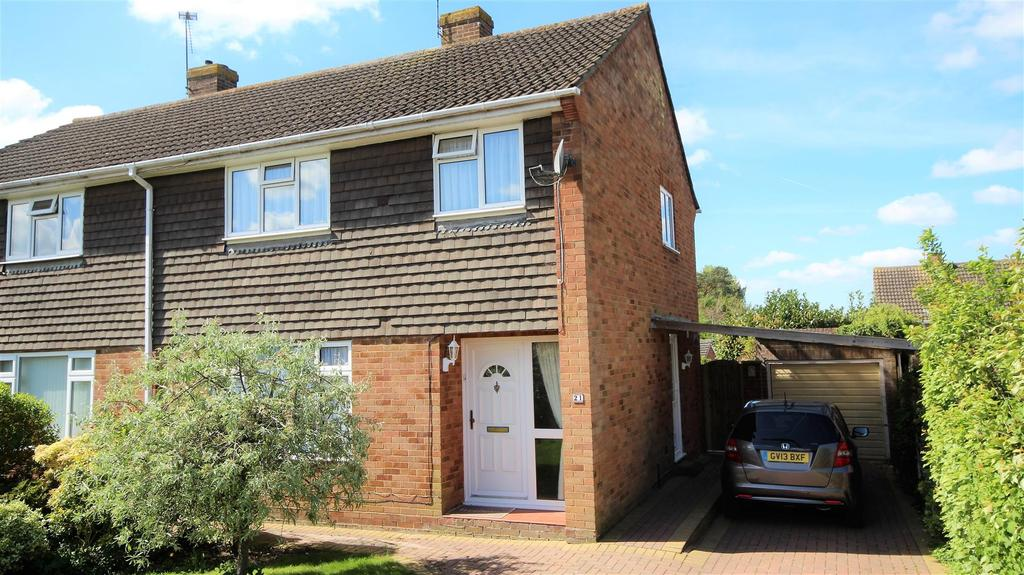 3 Bedrooms Semi Detached House for sale in Cheriton Avenue, Twyford, Reading