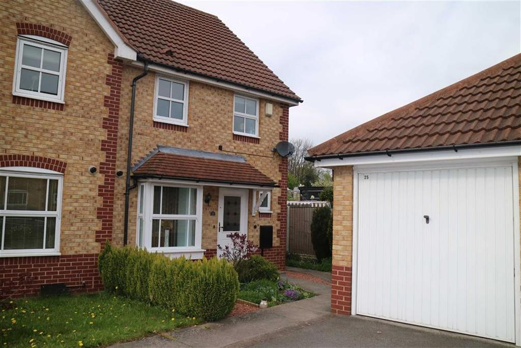 3 Bedrooms Semi Detached House for sale in Calladine Close, Sutton In Ashfield, Notts, NG17