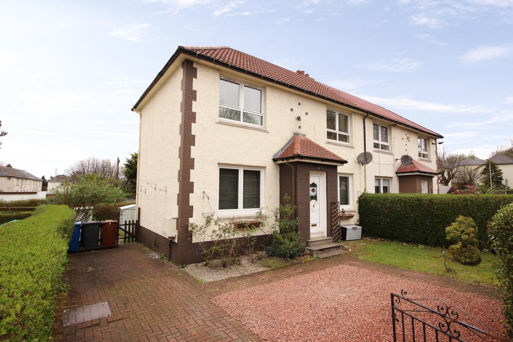 3 Bedrooms Semi Detached House for sale in 37 Mountblow Road, Mountblow, G81 4NJ