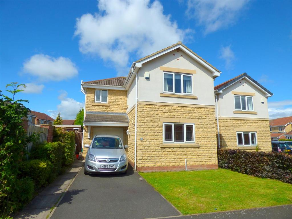 3 Bedrooms Detached House for sale in Shellbark, Biddick Woods, Shiney Row