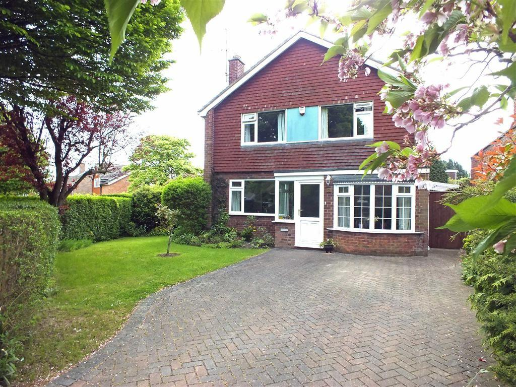 4 Bedrooms Detached House for sale in Robert Burns Avenue, Benhall, Cheltenham, GL51